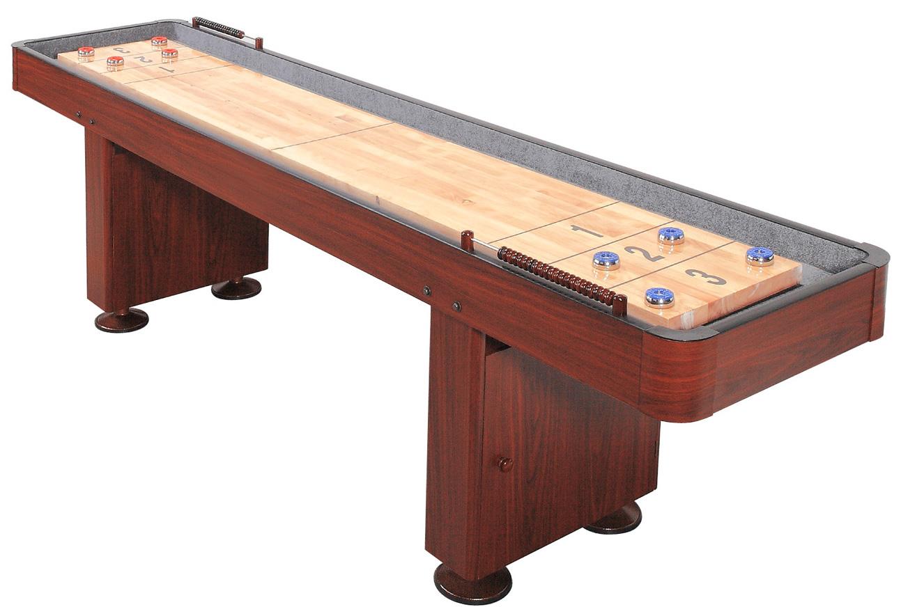 Shuffleboard 12 fot Standard inklusive tilbehør
